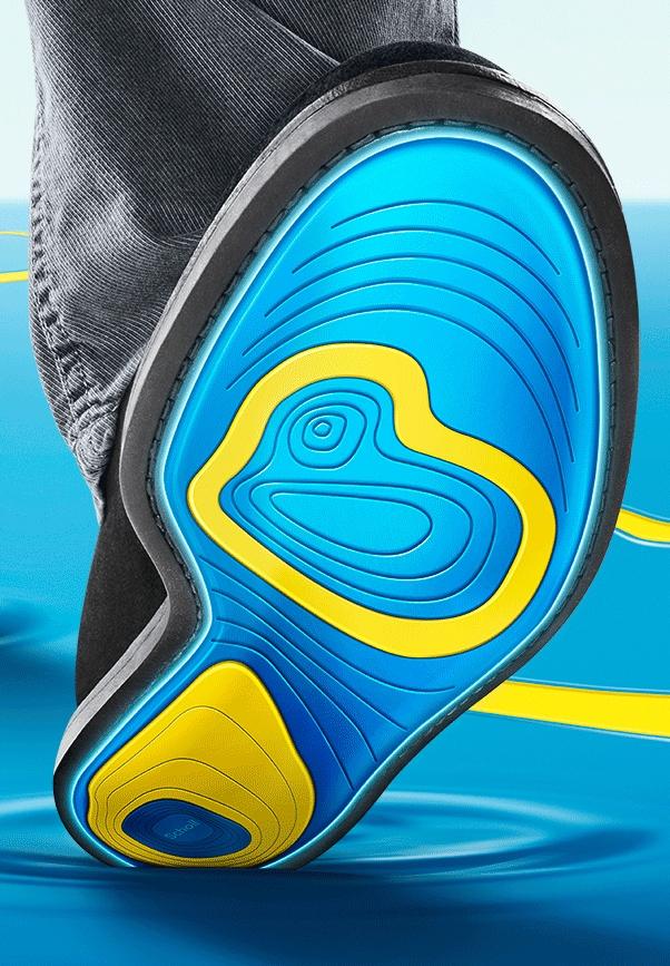 Scholl gelové vložky do topánok do práce veľkosť 42-46 eaa99da75b2
