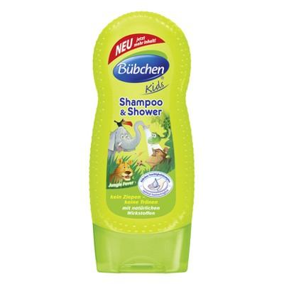 Bubchen Kids šampón a sprchový gél 2v1 Jungle Fever 230ml
