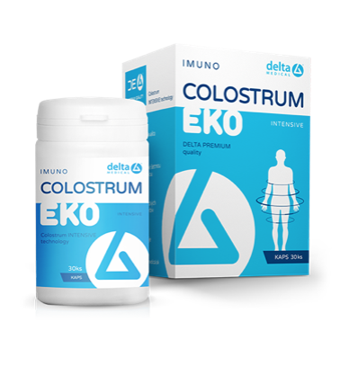 Delta Colostrum EKO Intensive 30cps