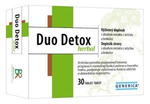 Duo Detox herbal 30tbl
