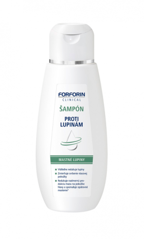 Forforin Clinical šampón mastné lupiny 200ml