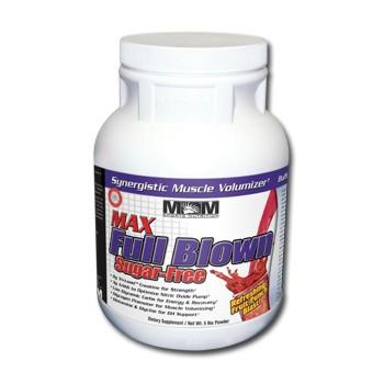 MaxMuscle Max Full Blown muscle volumizer Sugar Free 2270g