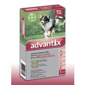 Advantix spot-on roztok pre psy od 10 do 25kg 1x2,5ml A.U.V.