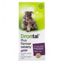 Drontal Dog Flavour  24tbl