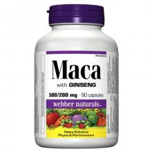 Maca so Ženšenom 500/200mg 90kps