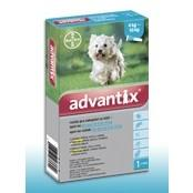 Advantix spot-on roztok pre psy od 4 do 10kg 1x1ml A.U.V.