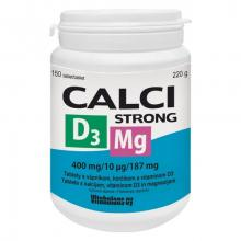 Calci Strong + Mg + D3 150tbl