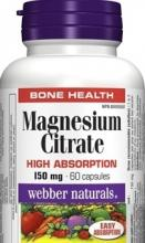 Magnesium citrate 150mg 60cps