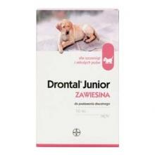 Drontal Junior perorálna suspenzia pre psy 50ml A.U.V.