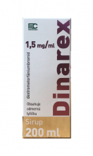 Dinarex 1,5 mg/ml sirup 200ml