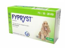 FYPRYST spot-on pre psy M 3x1,34ml A.U.V.