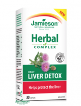 Liver detox Herbal complex Jamieson 30cps