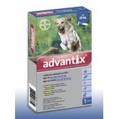 Advantix spot-on roztok pre psy od 25kg 1x4ml A.U.V.