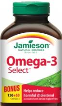 Omega-3 Select Jamieson 150+50cps