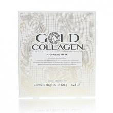 GOLD COLLAGEN hydrogelová maska 4 kusy