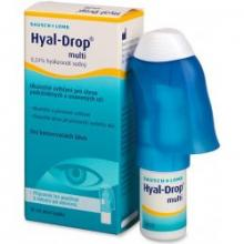 Hyal-Drop multi Očné kvapky 10ml