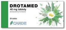 Drotamed 40mg 30tbl