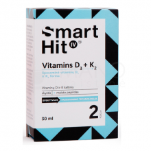 SmartHit Vitamins D3+K2 30ml